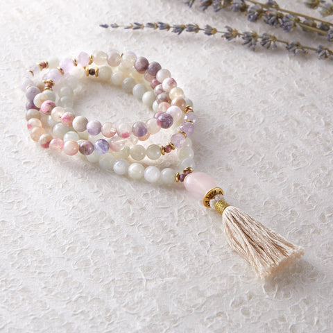OVER THE MOON MALA