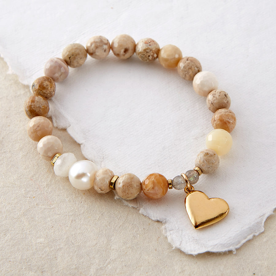 EXHALE ONLY LOVE BRACELET