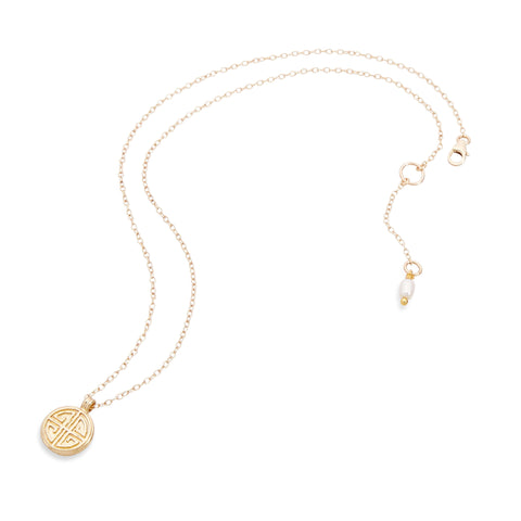 LONG LIFE NECKLACE - GOLD
