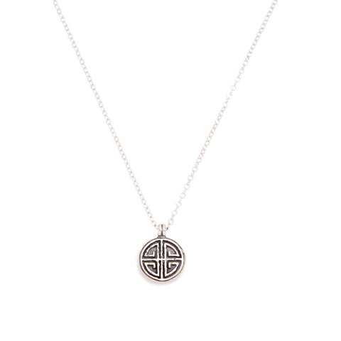 LONG LIFE NECKLACE - SILVER