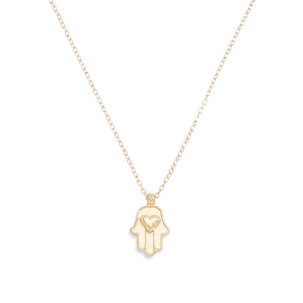 LOVE & PROTECT NECKLACE - GOLD