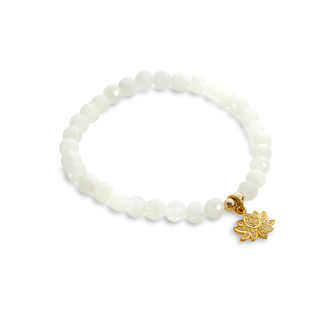 REMEMBER THE LOTUS PAVE BRACELET