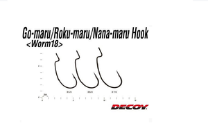 ANZOL DECOY  WORM 18