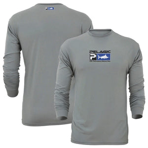 CAMISA PELAGIC AQUATEK SHIRT LS GREY 765-GRY