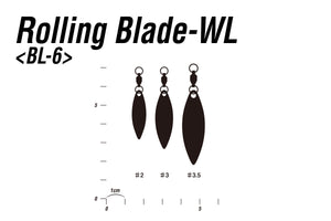 DECOY ROLLING WILLOW LEAF SILVER BL-6S