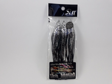 Carregar imagem no visualizador da galeria, ISCA ARTIFICIAL CROSS II IKA BAIT #4 L (3PCS) COR BLACK LAME