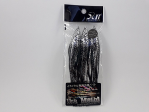 ISCA ARTIFICIAL CROSS II IKA BAIT #4 L (3PCS) COR BLACK LAME