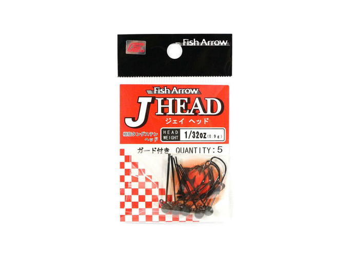 J HEAD FISH ARROW 5PCS 1/32OZ 0,9G