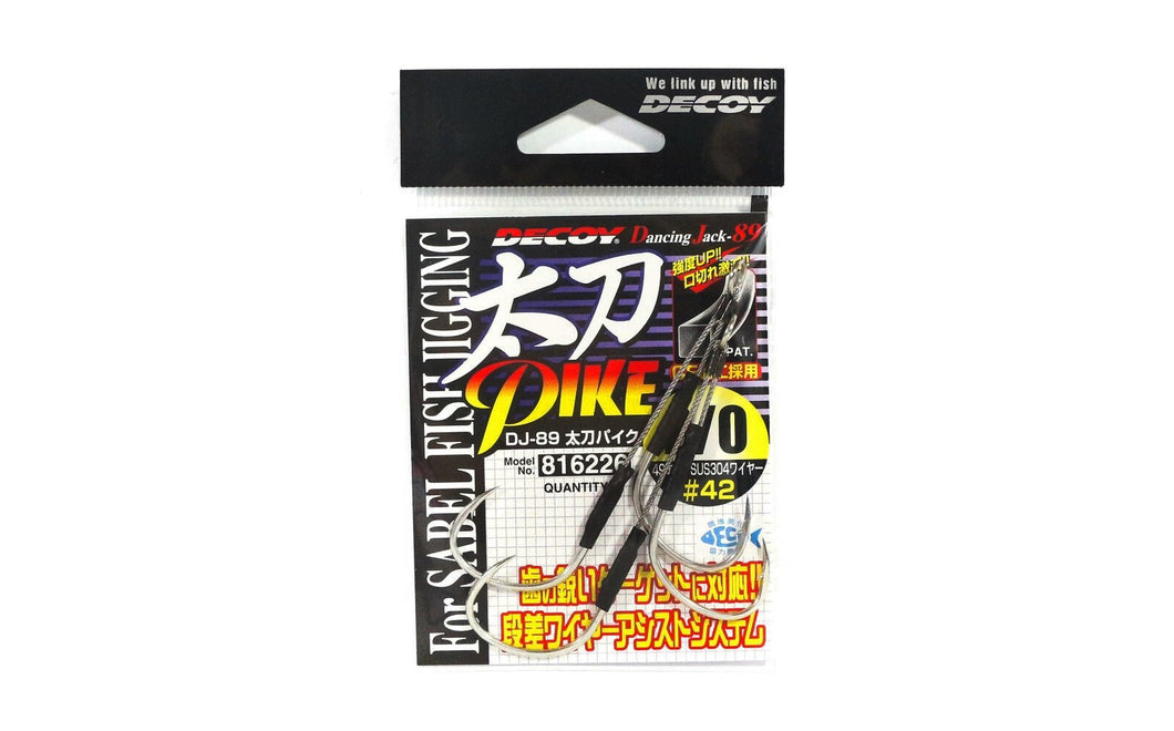SUPORT ASSIST HOOK SABER PIKE DJ-89 2/0