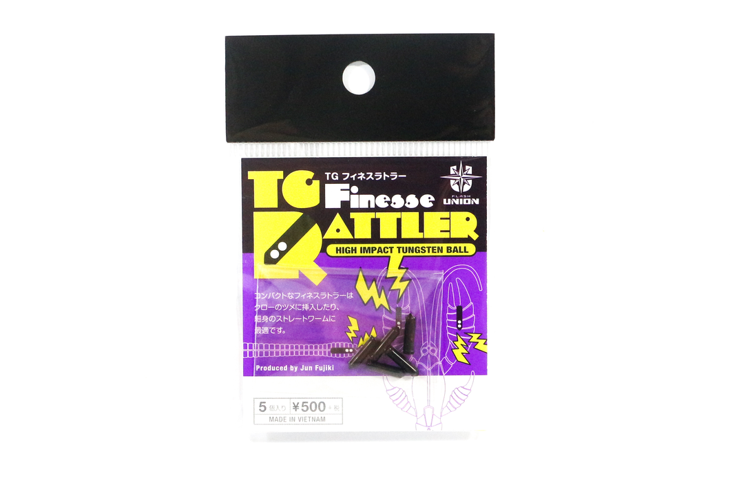 TG FINESSE RATTLER FLASH UNION 5PCS