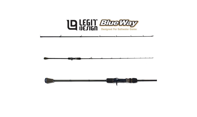 VARA LEGIT DESIGN BLUEWAY SLOW JIGGING BWC63ML SJ #1.5 PE2.5