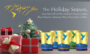 Holiday Blue Heaven Coffee Gift Variety 4-Pack