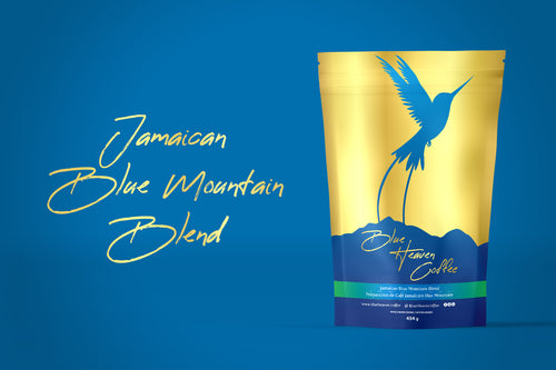 Blue Heaven Jamaican Blue Mountain Premium Coffee Blend
