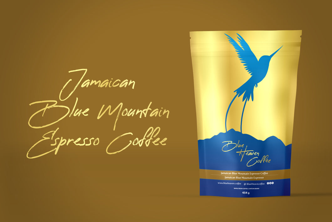 Blue Heaven Jamaican Blue Mountain Premium Espresso Blend