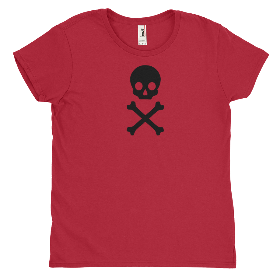 Skull and Bones short sleeve shirt (Fitted/Womens)