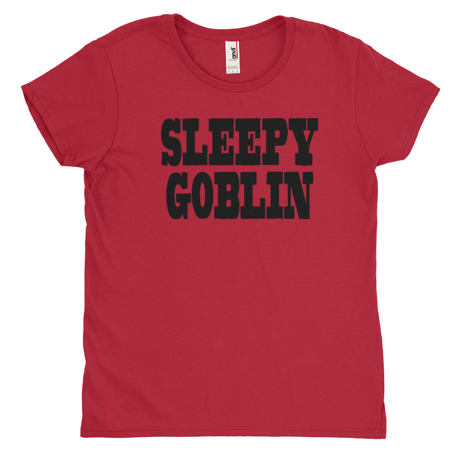Sleepy Goblin short sleeve shirt (Fitted/Womens)