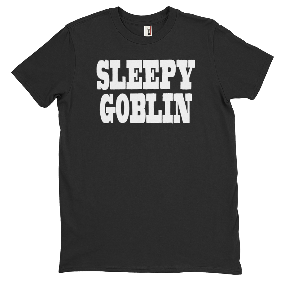 Sleepy Goblin short sleeve shirt (Unisex/Mens)