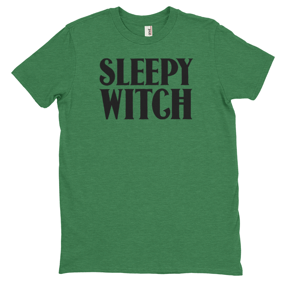 Sleepy Witch short sleeve shirt (Unisex/Mens)