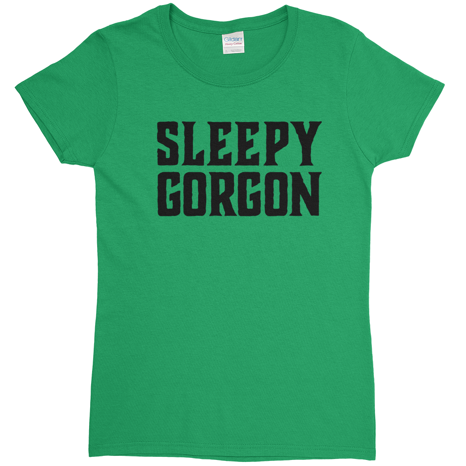 Sleepy Gorgon short sleeve shirt (Fitted/Womens)