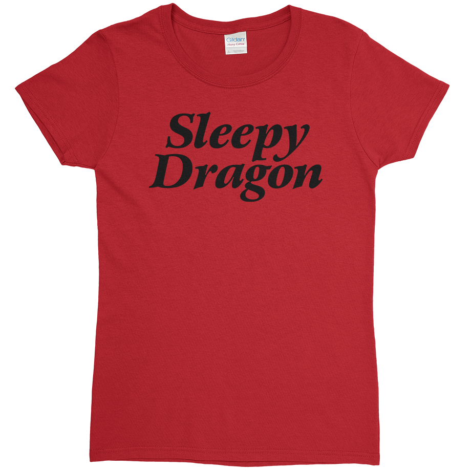 Sleepy Dragon short sleeve shirt (Fitted/Womens)