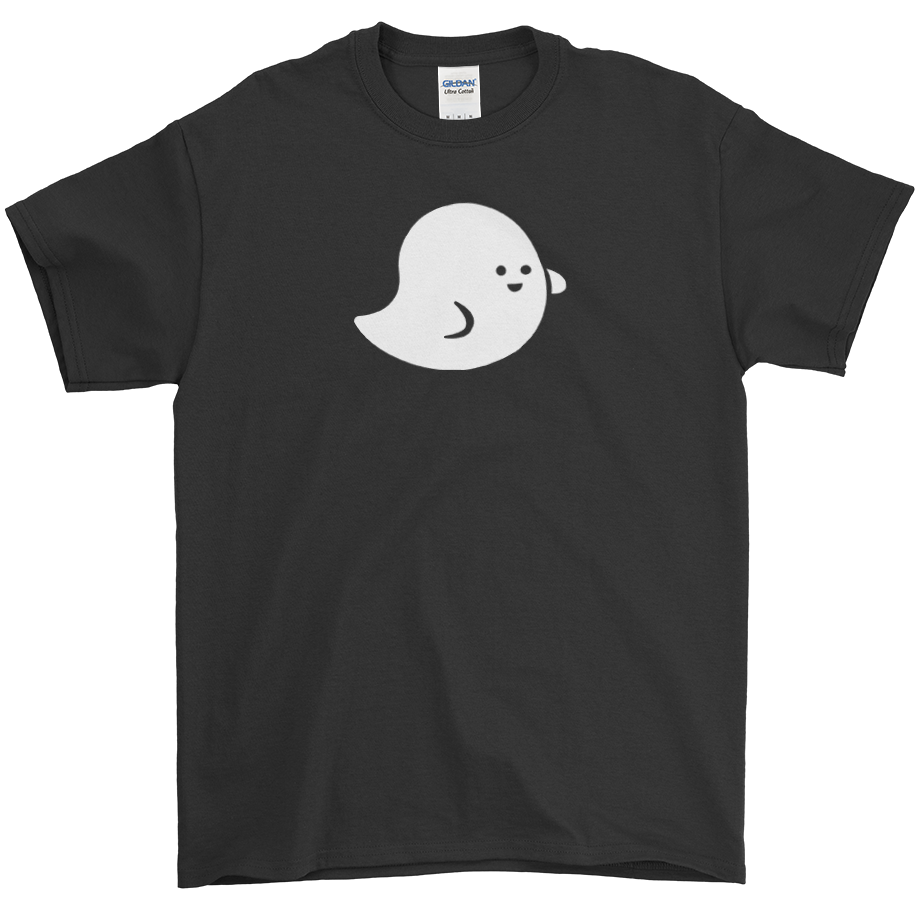 Marshmallow Ghost short sleeve shirt (Unisex/Mens)