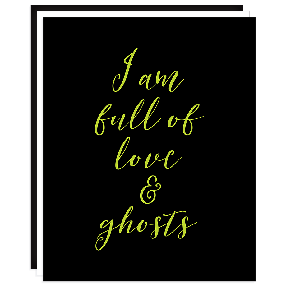 Love and Ghosts print