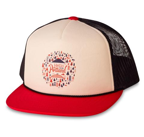 Burst Youth Kids Trucker Hat