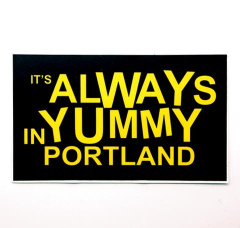 Always Yummy Sticker