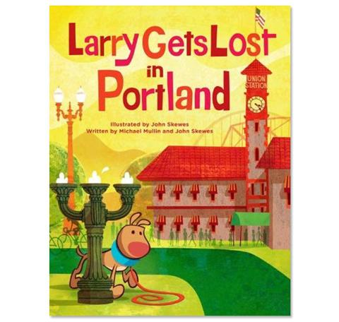 Larry Gets Lost In Portland Book
