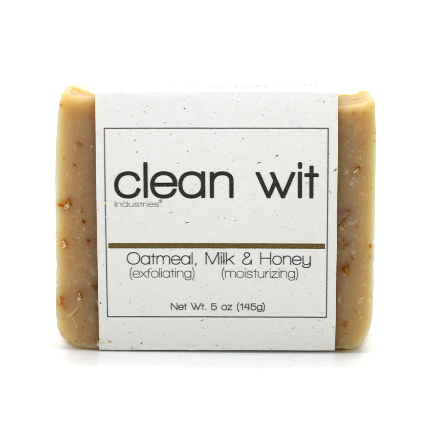 Oatmeal, milk and honey bar of soap.