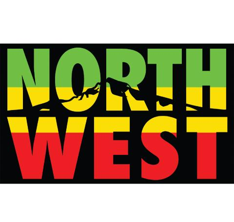 Northwest Rasta Sticker
