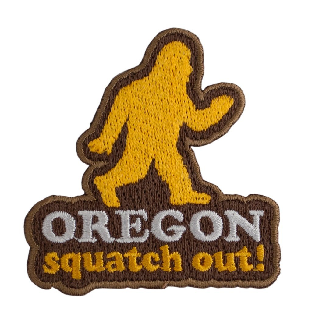 Squatch Out Patch - Pacific Northfresh  - 2