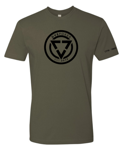 DV8 Emblem Army Green Shirt