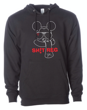 Load image into Gallery viewer, SH!T REG Black DV8 Hoodie