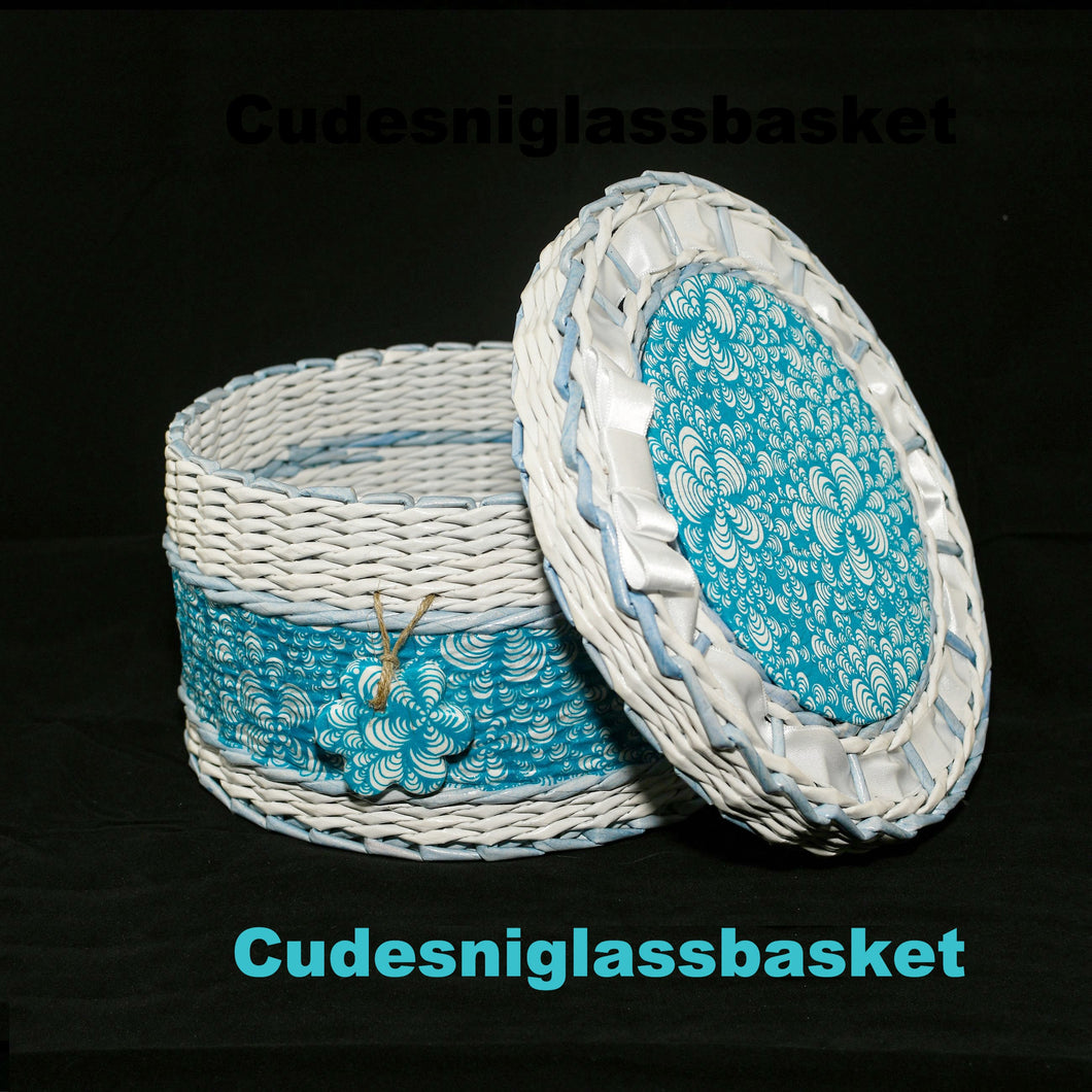 Wickerwork Basket made by Olga Perovic