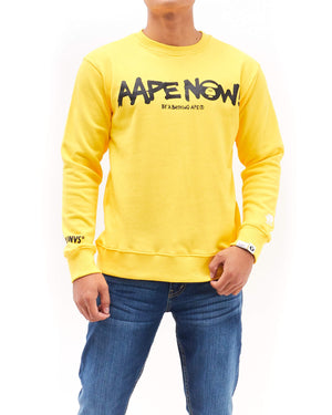 AAPE Now! Print Men Sweatshirt 21.90