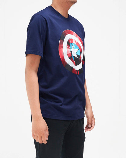 Caption Shield Men T-Shirt 13.90