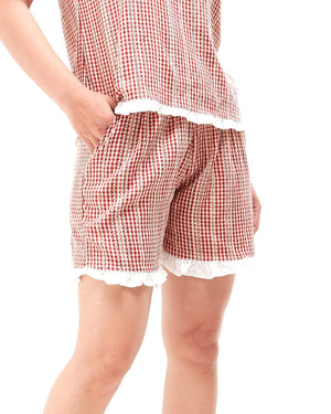 Checkered Lady Short 9.90