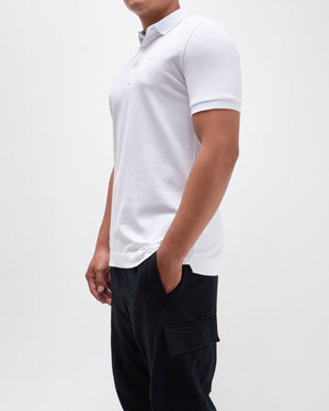 Chest Embroidery Men Short Sleeves Polo Shirt 18.90