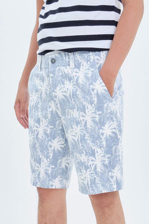 Coconut Tree Printed Men Short 16.90