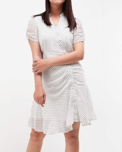 Dots Pattern Lady Dress 22.90
