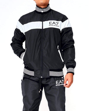 EA7 Men Color Blocked Jacket 17.50