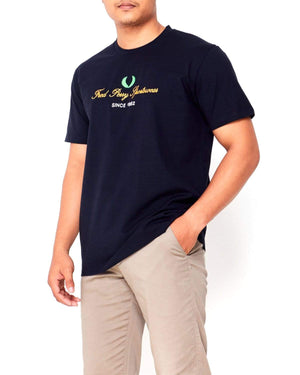 Embroidered Logo Men T-Shirt 15.90