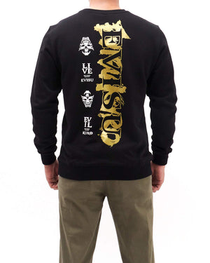 Evil Kuro Mask Men Sweater 25.90