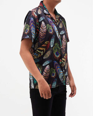 Feather Men Short Sleeve Shirt 14.50