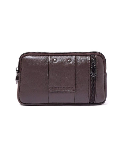 Front Folder Men Leather Clutch Bag 32.90
