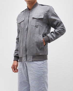 Front Pocket Men Bomber Jacket 24.90