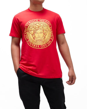 Gold Medusa Printed Men T-Shirt 16.50