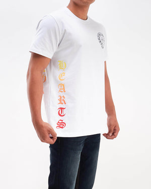 Gradient Chrome Heart Men T-Shirt 13.90