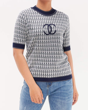 CC Stripe Lady Knit T-Shirt 18.90